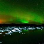 Helmuth Raschel - Polarlicht über Vulkan