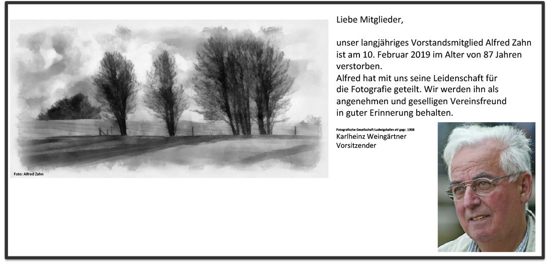 Alfred Zahn-Homepage