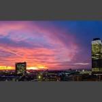 Eckhard Koch - Frankfurt Sonnenuntergang