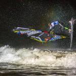 Peter Ramge - Surfer bei Nacht